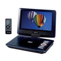 9 Inch TFT Swivel Screen Portable DVD/CD Player with Remote Control