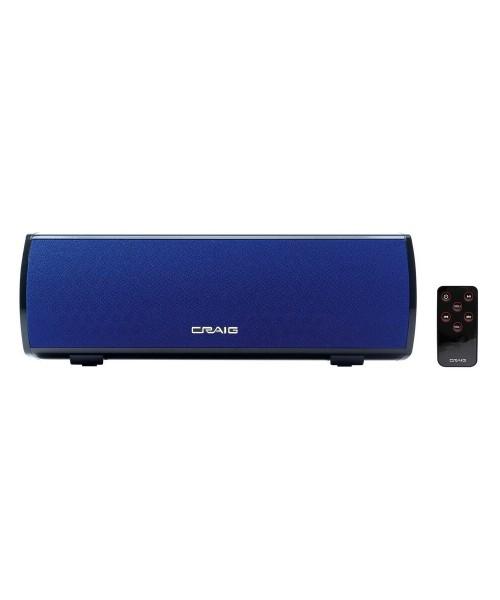Stereo Bluetooth Speaker Bar – AC Powered