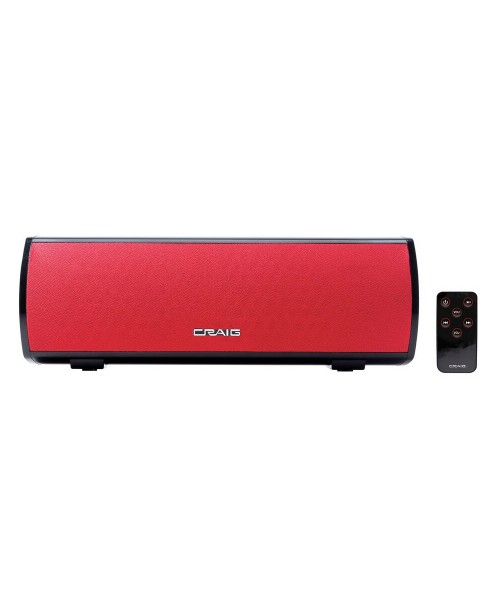 Stereo Bluetooth Speaker Bar – AC Powered