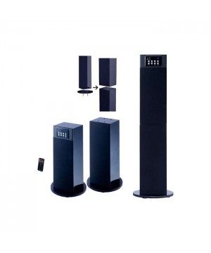 Stereo Home Theater/Tower Speaker System with Bluetooth Wireless Technology